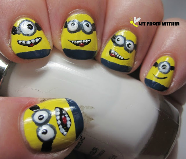 first trial run of Minions!