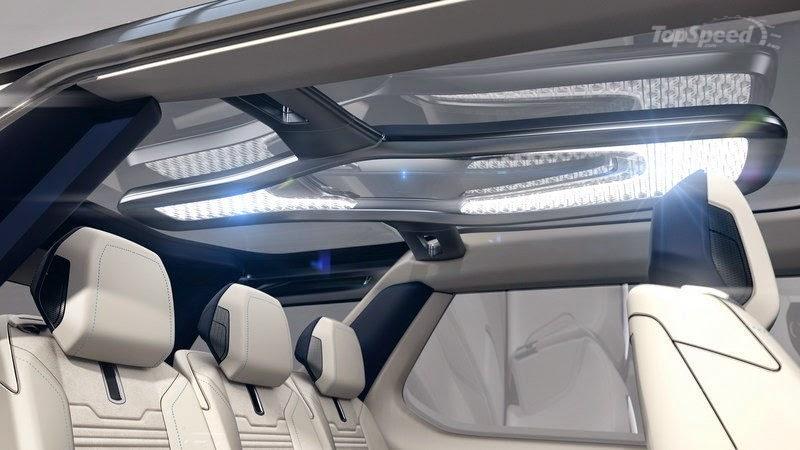 Land Rover 2016 luz interna