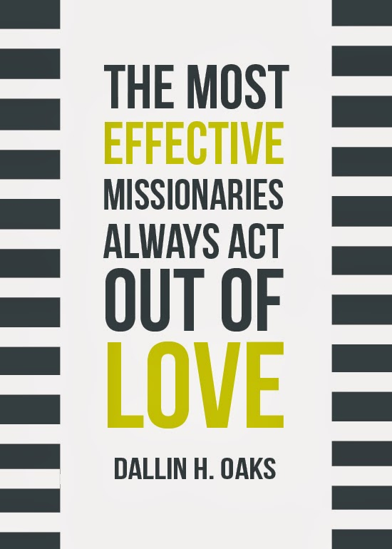 Act out of Love