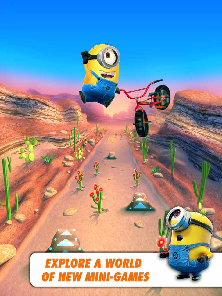 Despicable Me: Minion Rush Free App Game By Gameloft