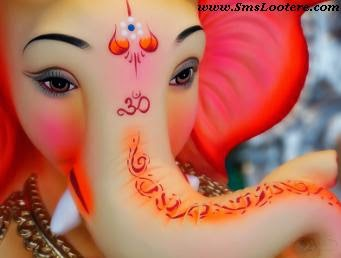 Ganesh Chaturthi SMS in Hindi Latest Jaikara for Ganpati Bappa