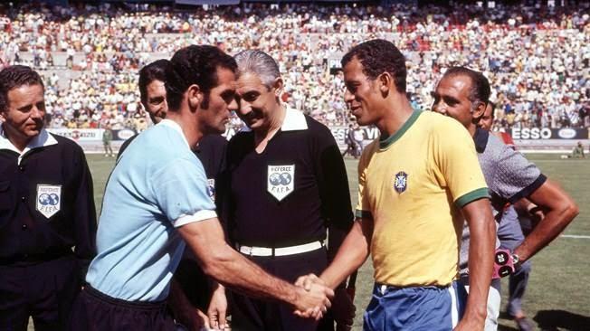 Selección Uruguaya de Fútbol Wc+1970+brasil+uruguay+carlos+alberto+ubiña