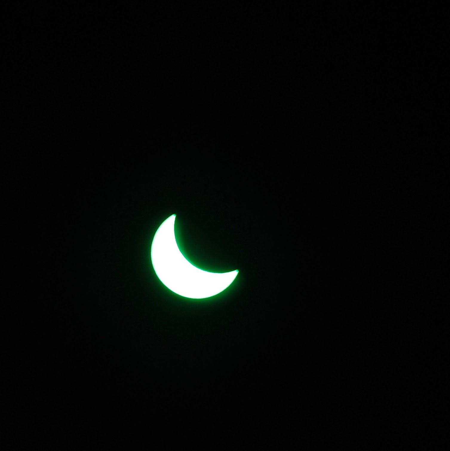 Zaćmienie słońca 20 marca 2015 Polska. Sosnowiec.