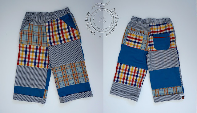 lapitehnikas riided, patchwork trousers