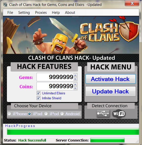 coc hack for unrooted android
