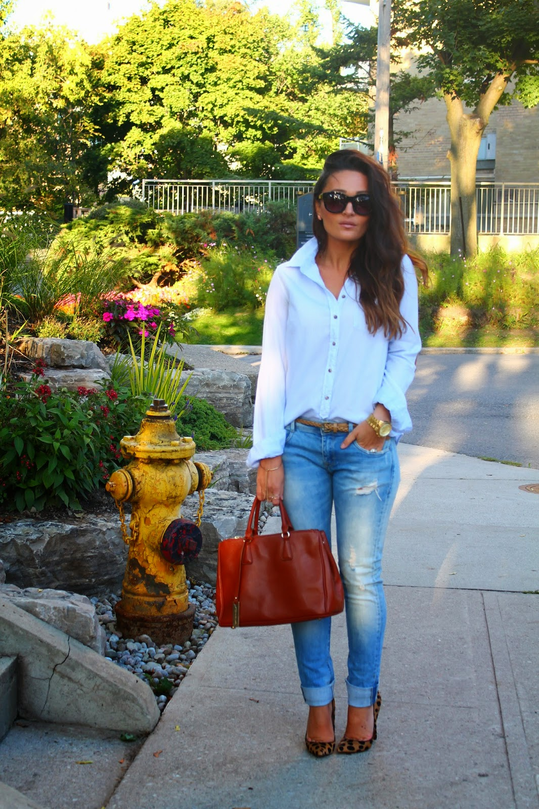 leopard print stilettos, leopard print shoes, ripped zara jeans, casual jeans outift, blogerke, iscepane farmerke, canadian fashion blogger, toronto street style