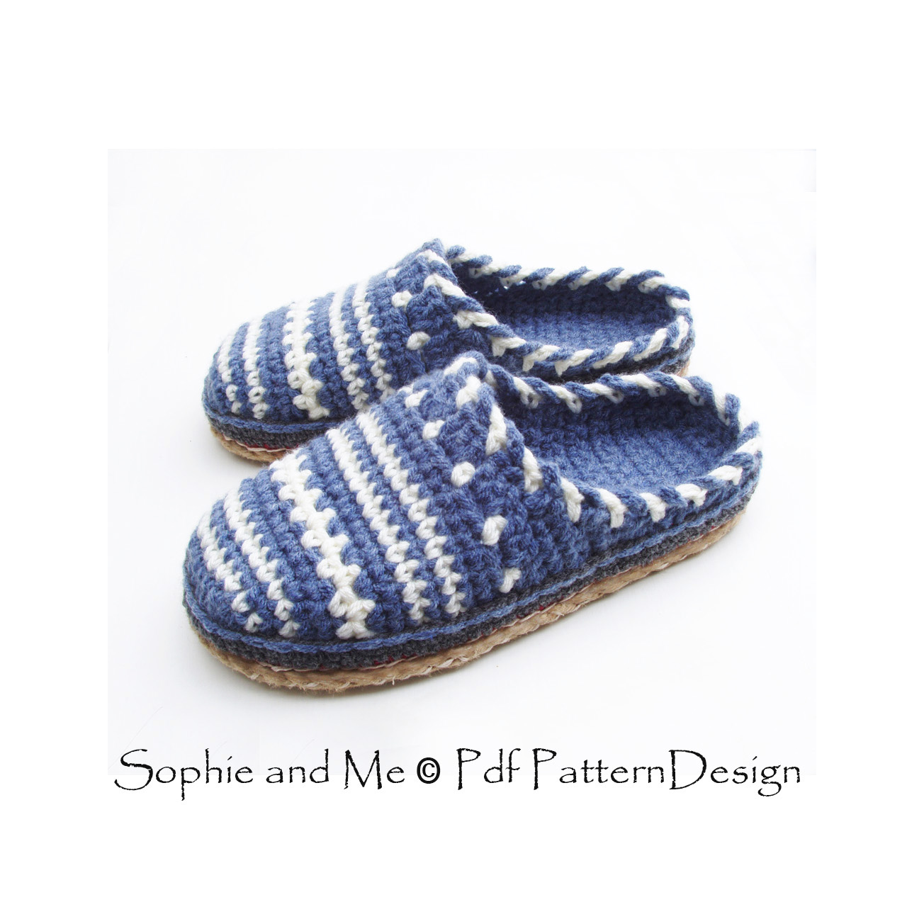 Sophie and Me: SWEATER CLOG SLIP IN CROCHET SLIPPERS!