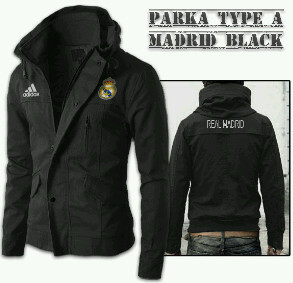 Jaket Bola Parka Real Madrid