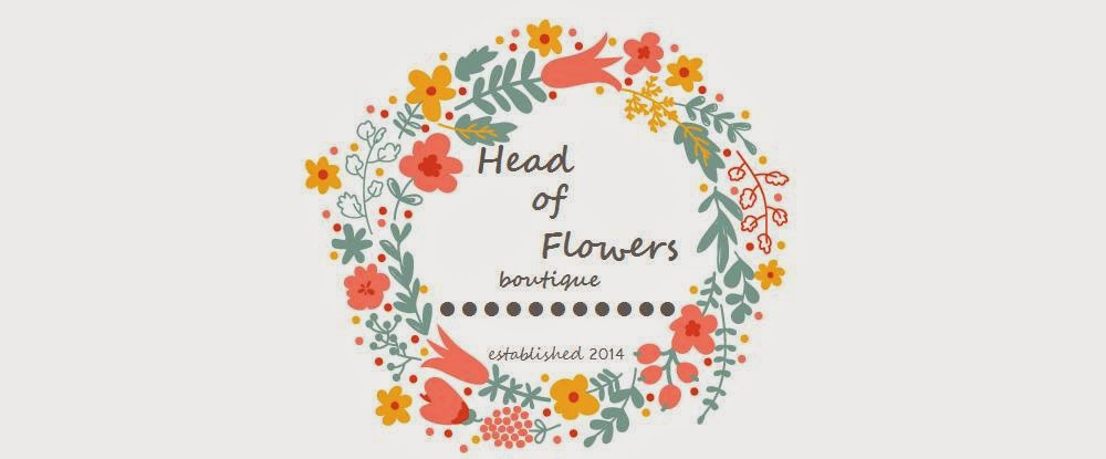 Head of Flowers Boutique