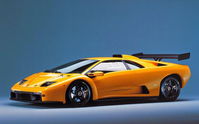 Foto Mobil Lamborghini Diablo Yellow