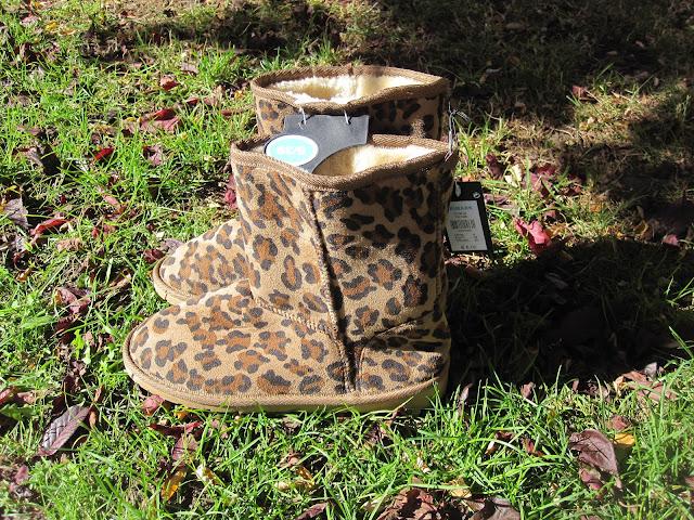 botas ugg primark leopardo