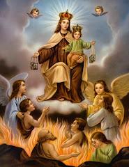 Virgen del Carmen y Animas Benditas