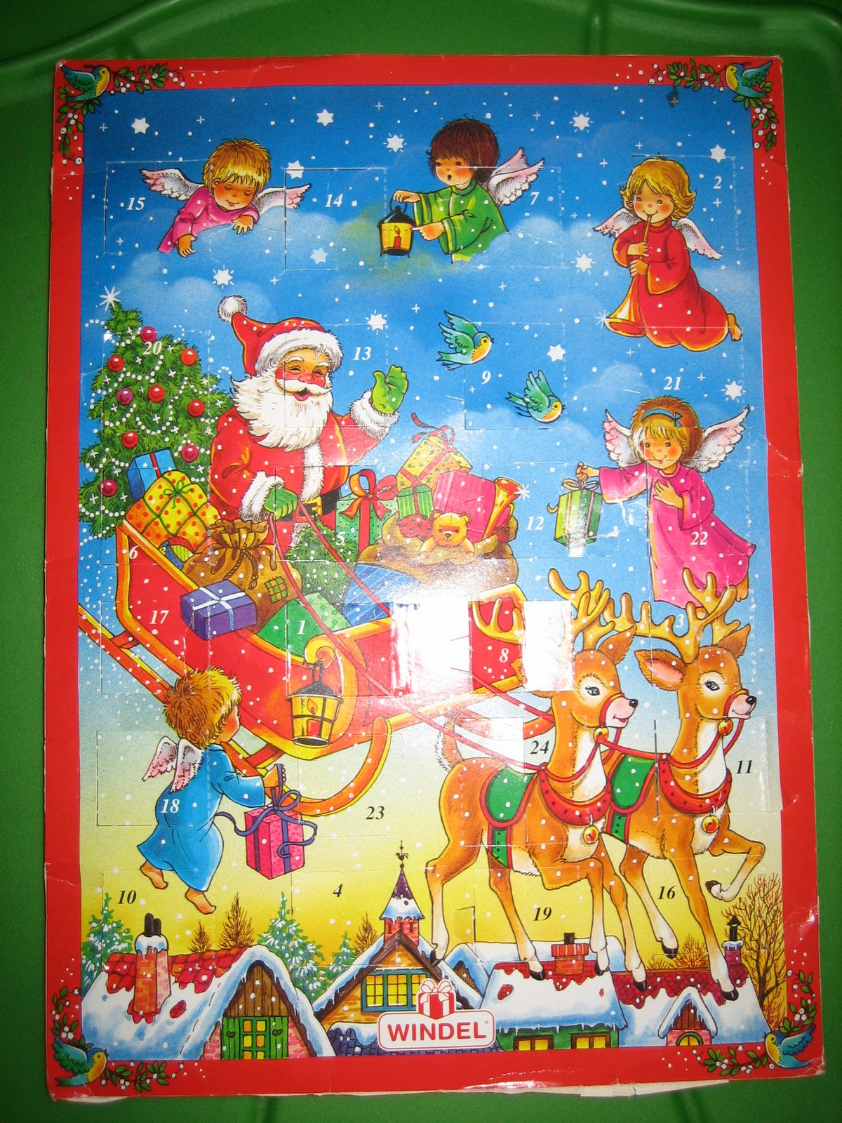 Leaves for Trees: Advent Calendar of Christmas Memories - Grab bag ...