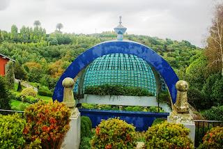 Luarca, Jardines de la Fonte Baixa, vista general
