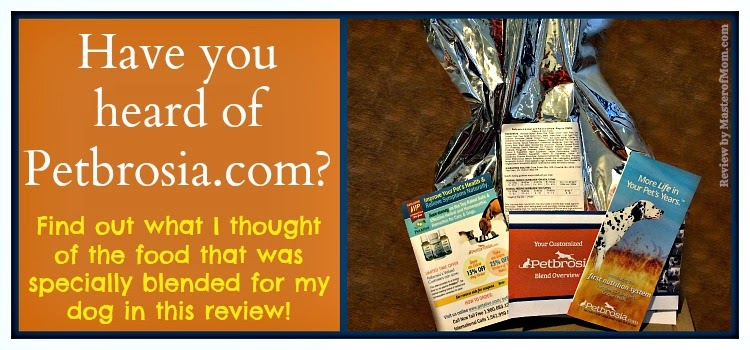 Petbrosia Dog Food Review