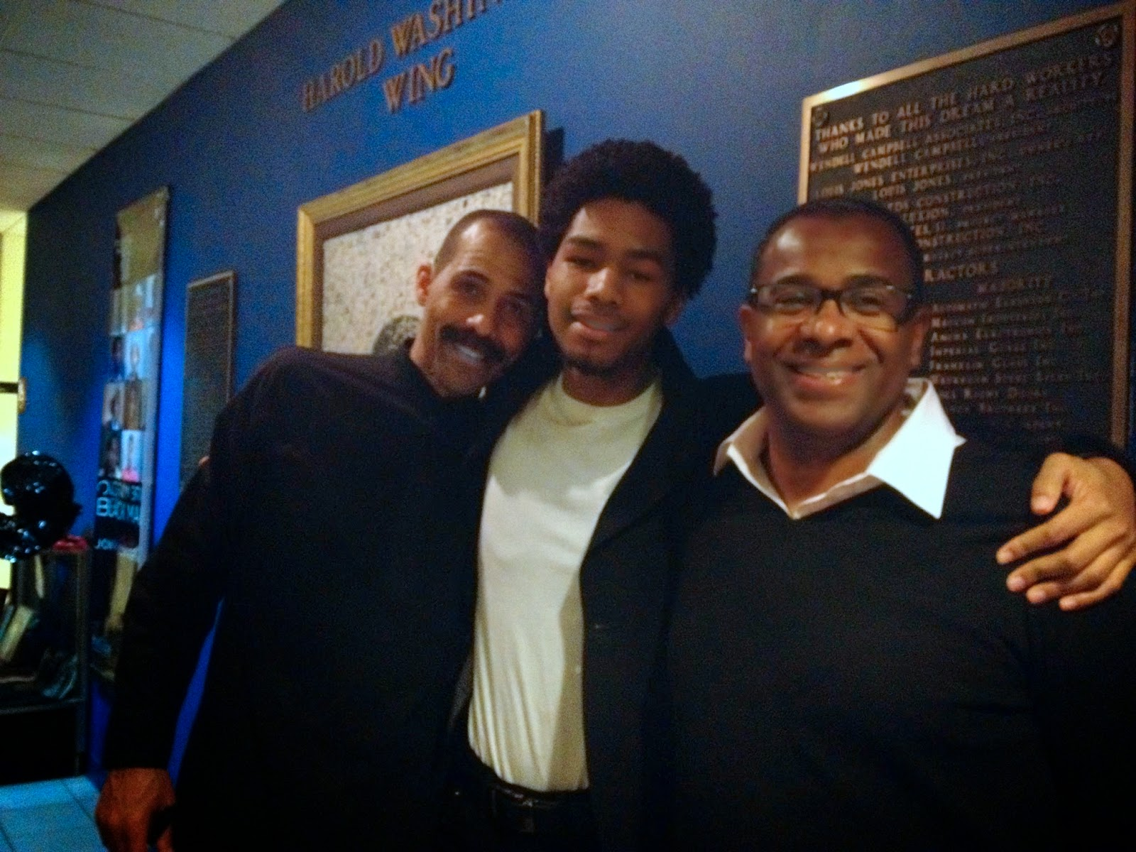 Be Known Documentary Star Kahil EL Zabar,  his son Nasser Israel, Director Dwayne Johnson-Cochran