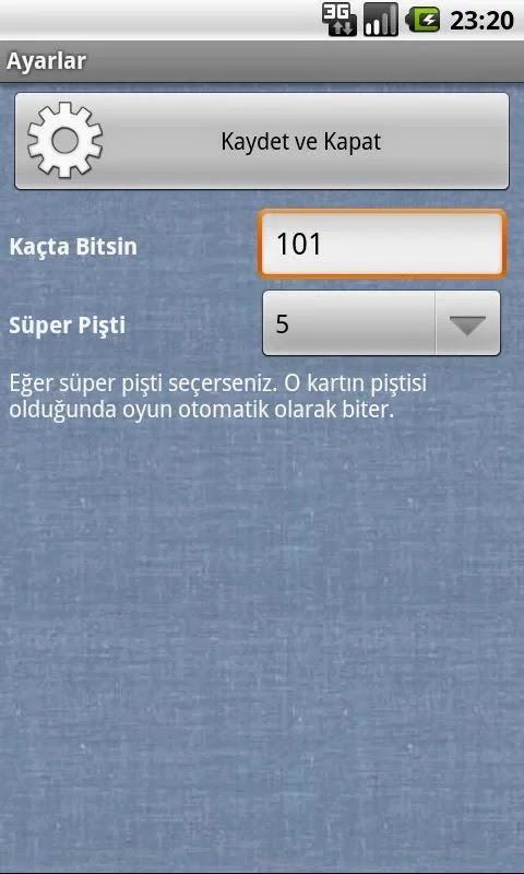 Android Pişti Apk Oyun resimi
