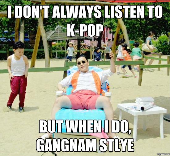 Gangnam Style Meme
