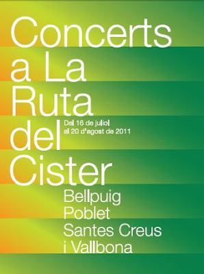 Concerts a la Ruta del Cister