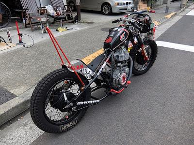 Yamaha SR 400 Chopper