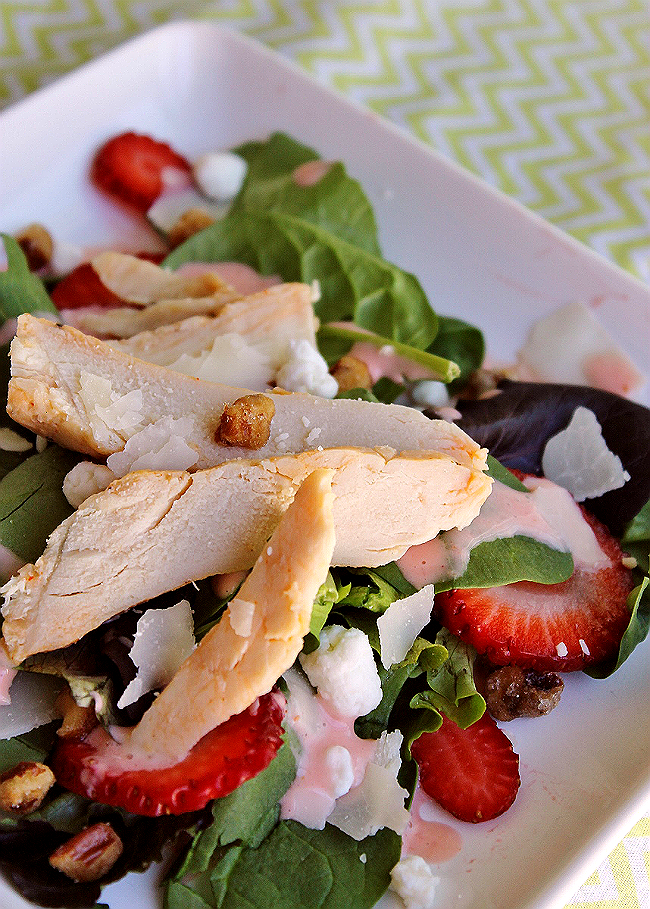Strawberry Fields Chicken Salad