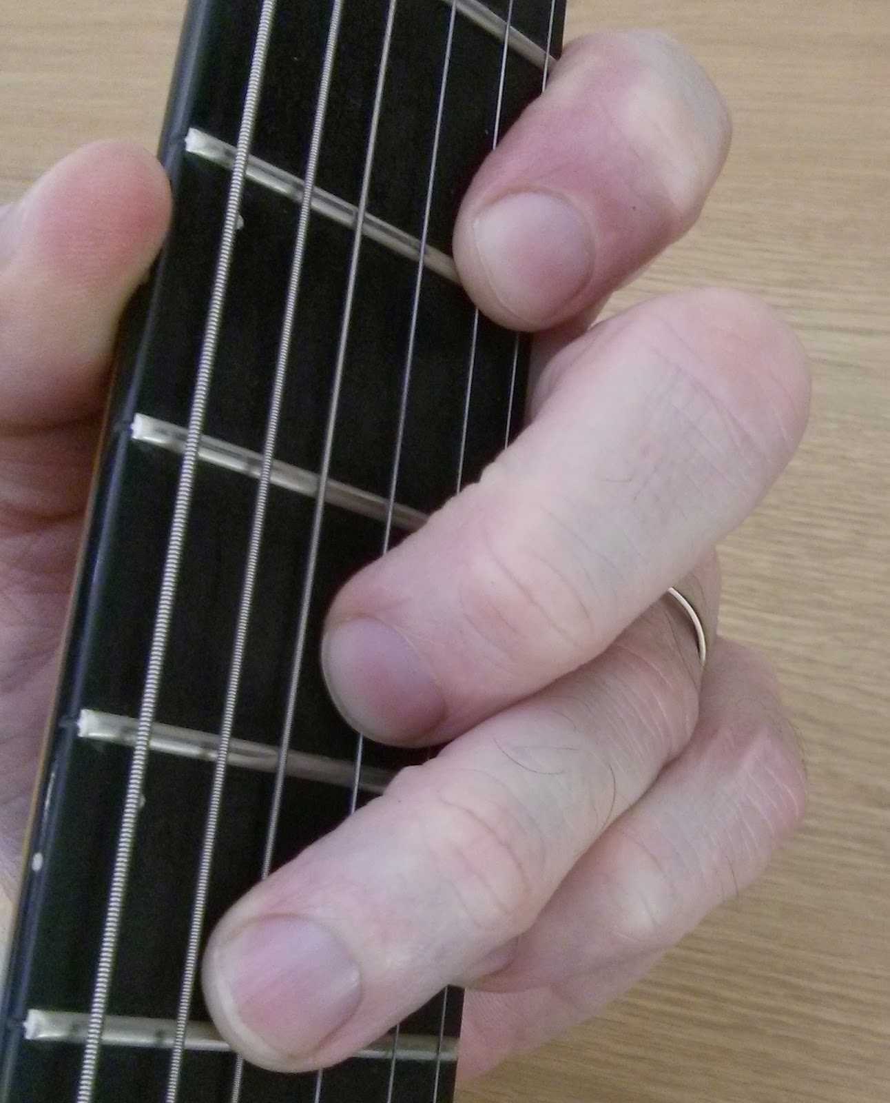 A New Guitar Chord Every Day B9 Guitar Chord