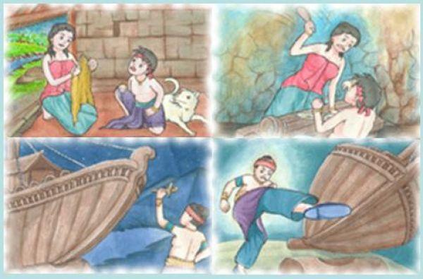 The Legend of Mount Tangkuban Perahu