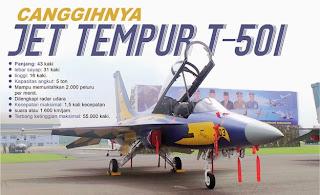 Inilah Jet Tempur T-50i Milik TNI AU Indonesia