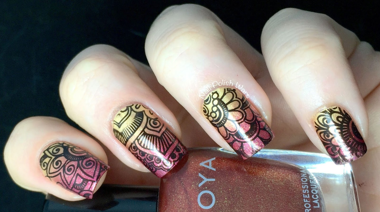 Nail Polish Wars A Little Henna