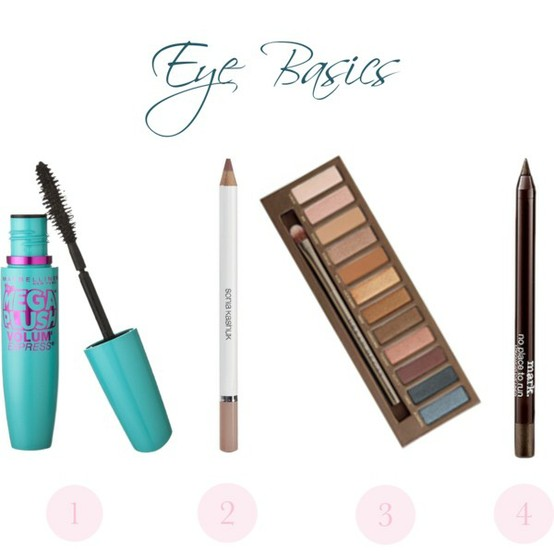 mascara, brow pencil, shadow palette, eyeliner, urban decay, naked, naked palette, beauty, makeup, beauty tips, makeup tips
