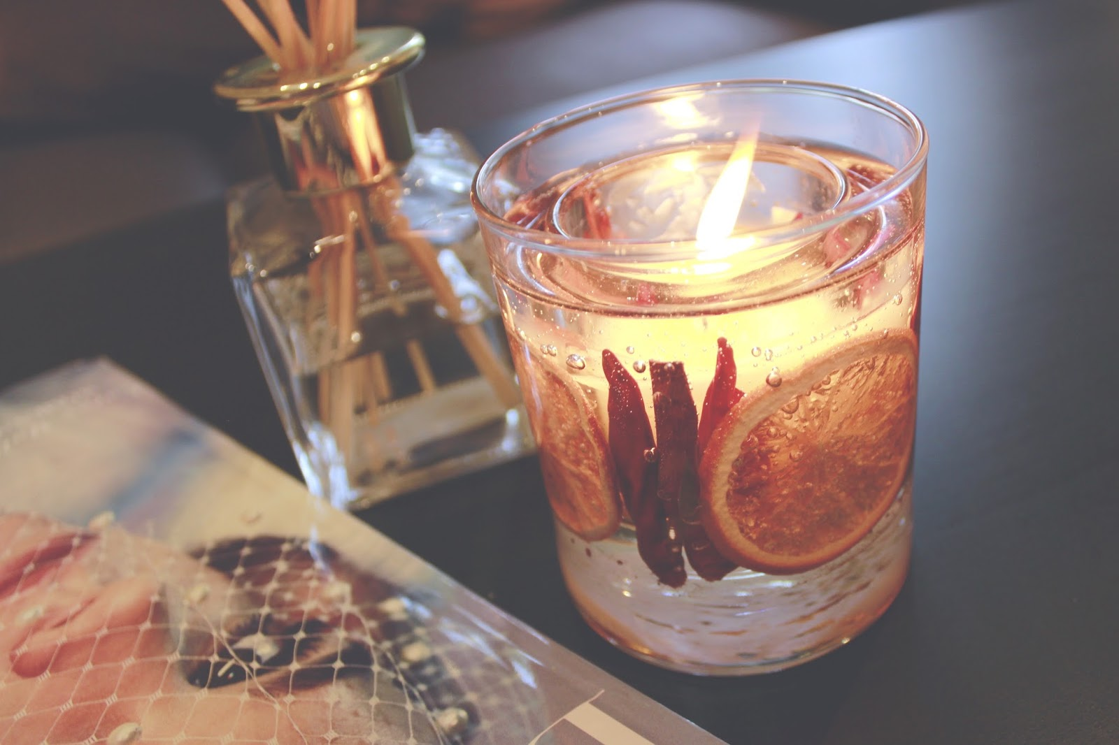 John Lewis Winter Spice Candle and Greenhil & York Diffuser