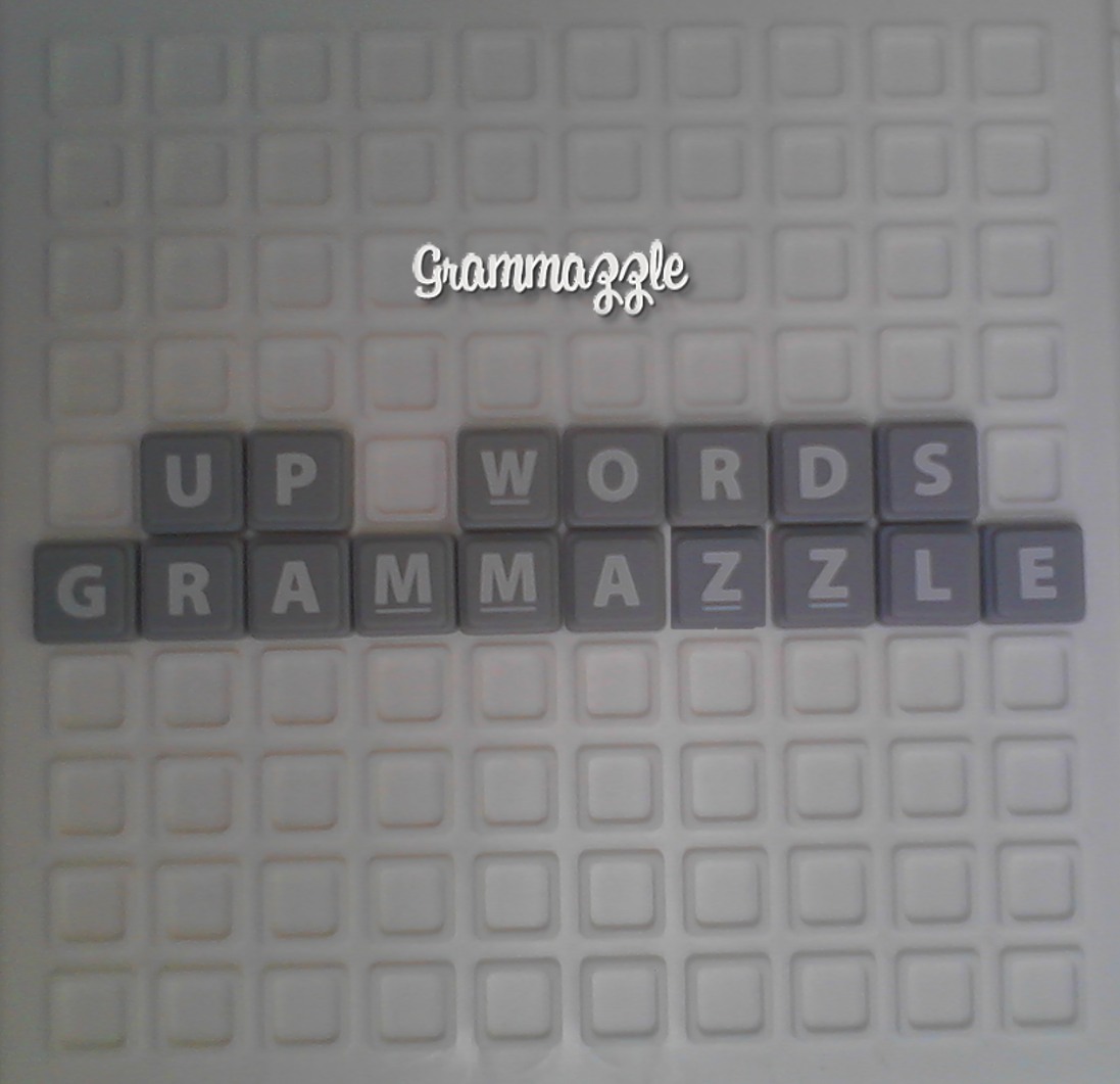 Grammazzle Up Words Gramática Juego Letra