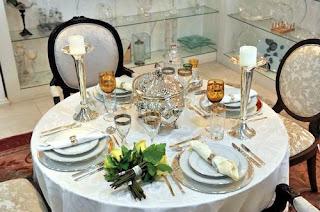 Como decorar mesas para festas