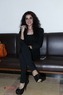 Piaa Bajpai Latest Picture Gallery in Black Dress at Back Bench Student Picture Exhibition at Muse Art Gallery ~ Celebs Next