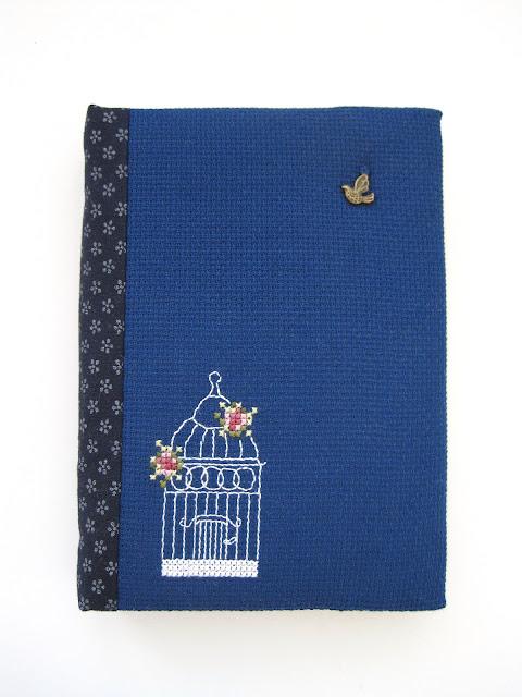 cross stitch вышивка hand made notebook блокнот ручной работы rosengarten