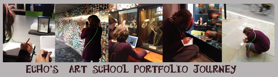 Echo's Journey in Developing her Art School Portfolio