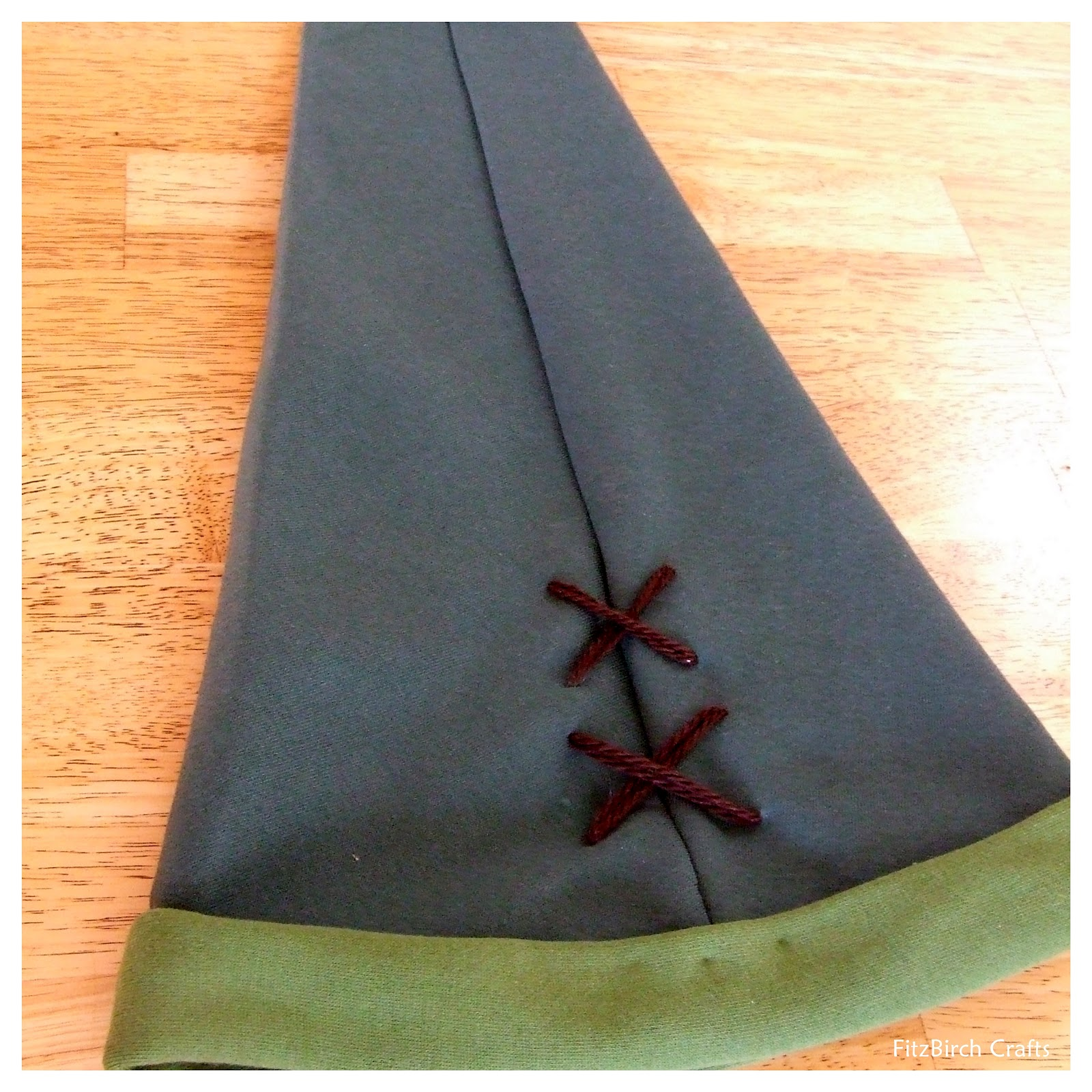 FitzBirch Crafts: The Legend of Zelda - Link Hat