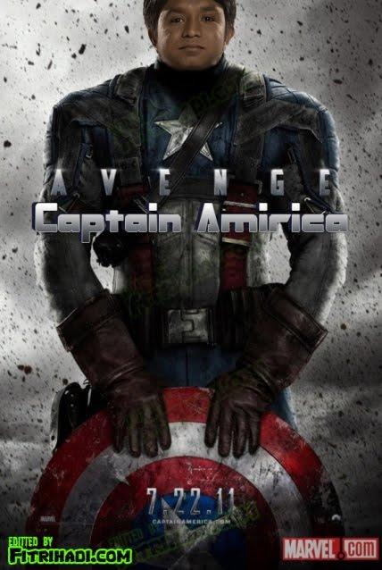 captain amir amirica america raja lawak