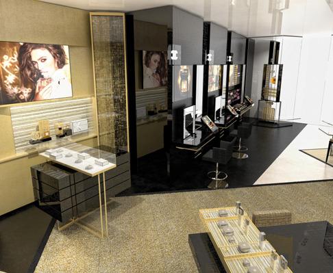 1ae87976c846 Более 150 кв м отданы под парфюмерию, средства макияжа и ухода за собой, в  том числе продукты, созданные специально для азиатского и американского  рынков.