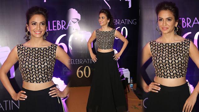 Kriti Kharbanda Latest HD Photos At Chiranjeevi 60th Birthday Party