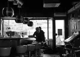 coffee shop,black,bar,tea,couple