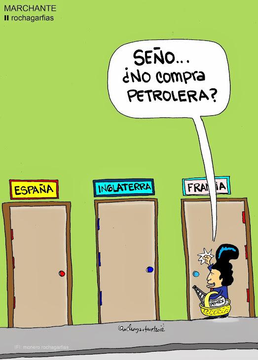 Petroleo mexicano en venta.