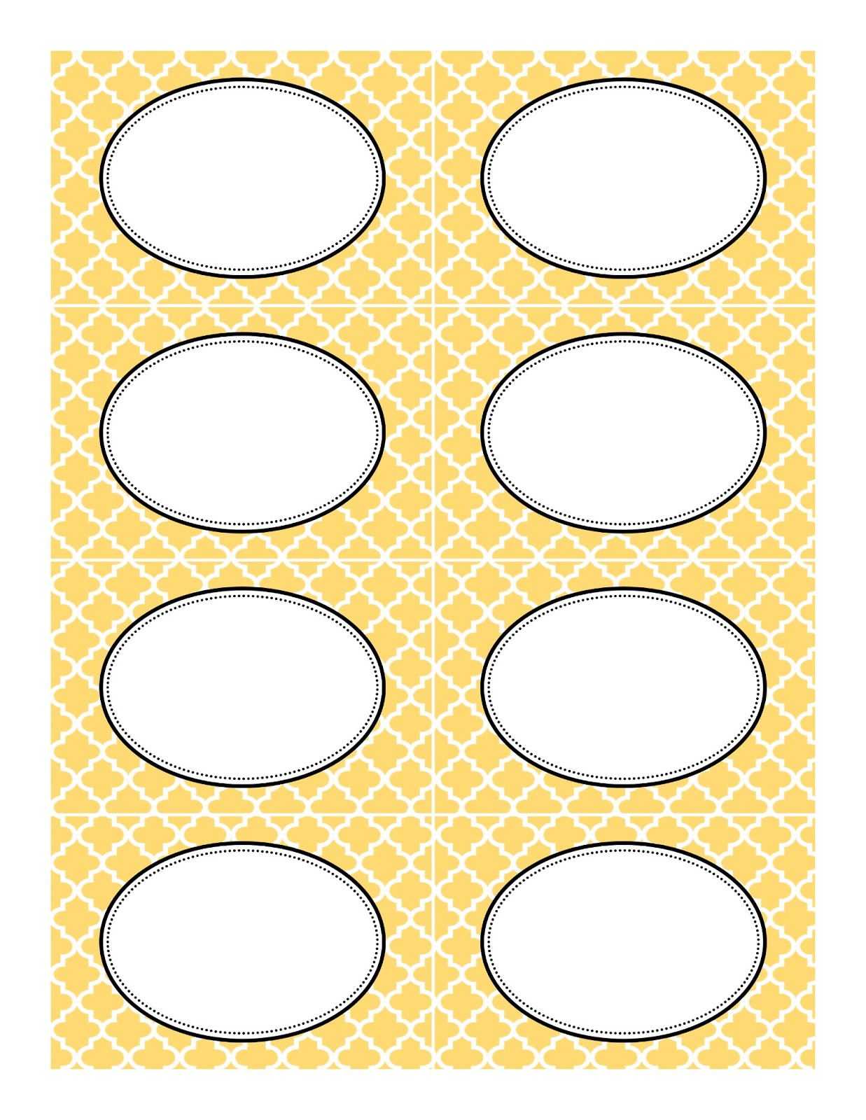 We have created some free printable candy buffet labels to tie around