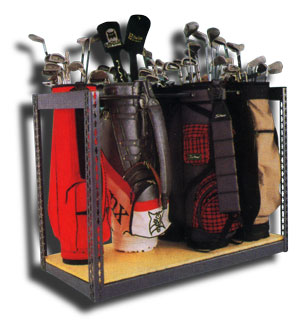 Galeu0027s Industrial Supply   Storage Solutions: Golf Bag Storage Solution For  Golf Clubs