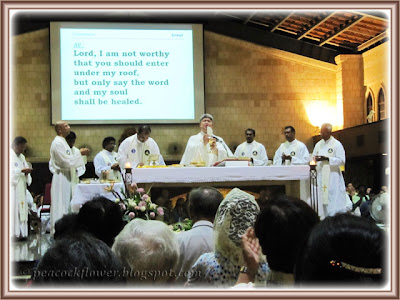 Eucharistic Mass at St Anne's Church, Bukit Mertajam