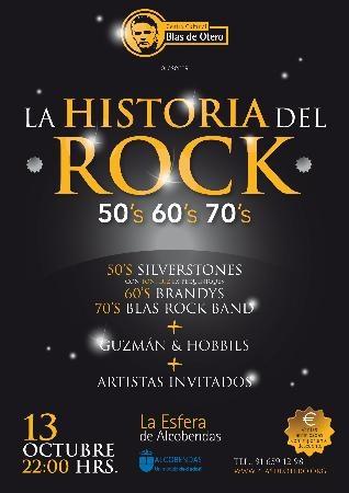 Revista zona norte de madrid el pr ximo s bado en la for Espectaculo historia del rock