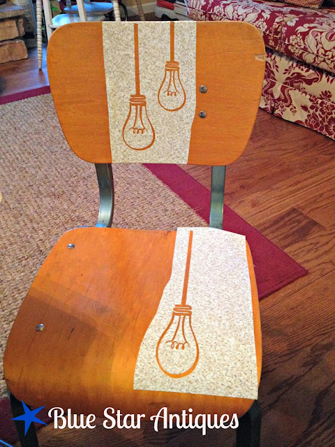 How To Stencil A Chair With Chalk Paint Part Two