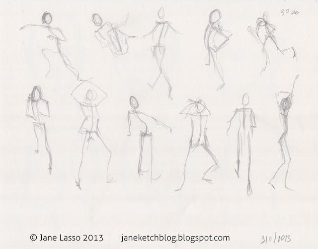 Dibujo de gestos de poses