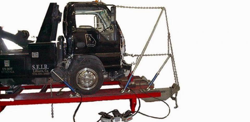car liner frame machine