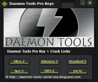 Daemon tools Pro Serial Key generator